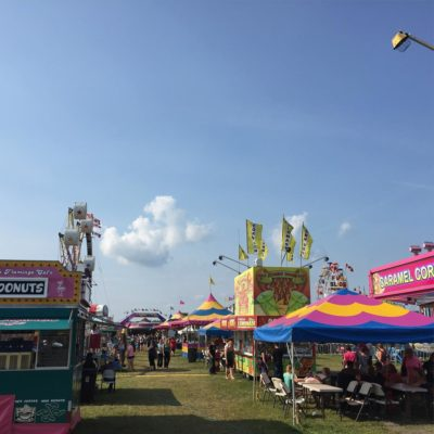 Stirling Fair. Not pictured: Corn Dog